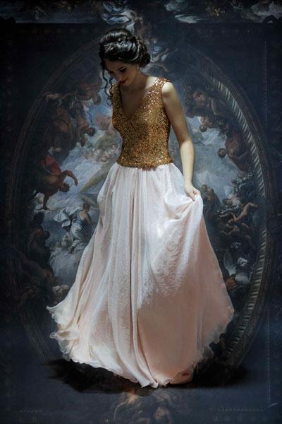 rochie-de-seara-voal-penicula-aurie-bust-paiete-gabriel's-fashion