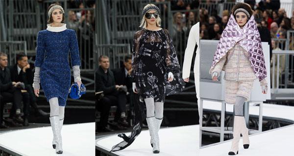 Tendinte haine femei 2017-2018 toamna-iarna Chanel