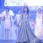 Maria Cristina Flacau in varsta de 12 ani a devenit Little Miss Galaxy.