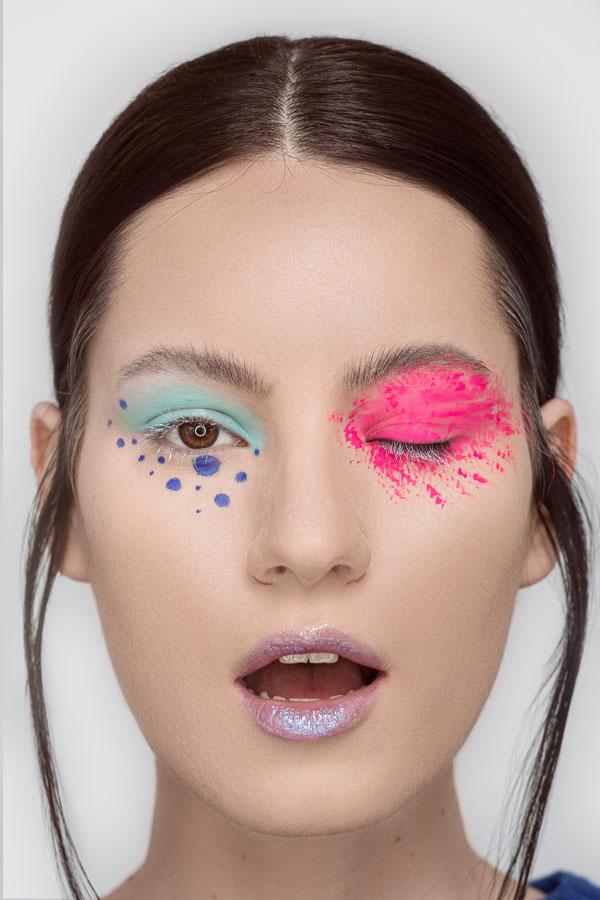 Fashion make-up nu sunt neaparat stridente, ele pot trece uneori neobservate ...