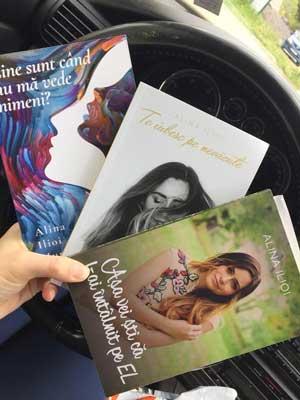 Ce o inspira sa scrie pe Alina Ilioi Muresan?