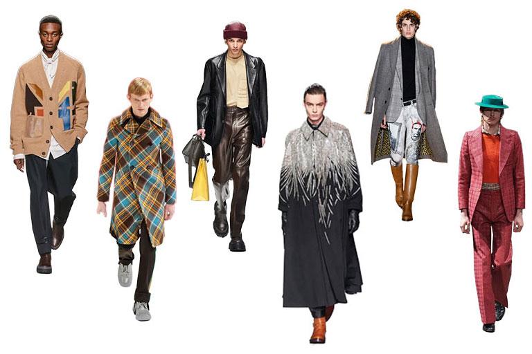 Principalele tendinte masculine 2020-2021 in ceea ce priveste vestimentatia se remarca printr-o revenire a costumelor bine croite, a paltoanelor supradimensionate, a pielii si imprimeurilor indraznete.