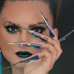 Butterfly nails au o forma extrema, autoarea acestei forme fiind Kostka Bojana.