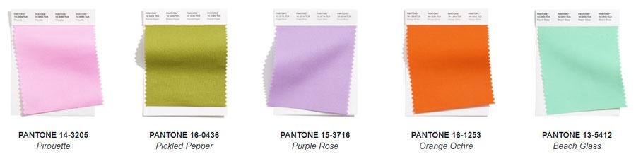 Cele mai importantente tendinte culori 2021 Londra prezinta 10 culori remarcabile.