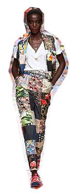 Una din cele mai active tendinte moda primavara vara 2021 pentru femei sunt combinatiile de petice vazute in multe piese vestimentare.