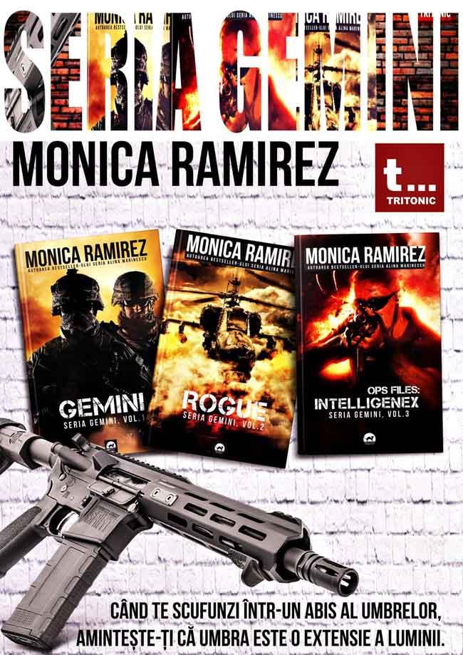 Este greu pentru Monica Ramirez sa scrie spionaj? Ce cunostinte trebuie sa ai pentru a aborda acest gen literar?