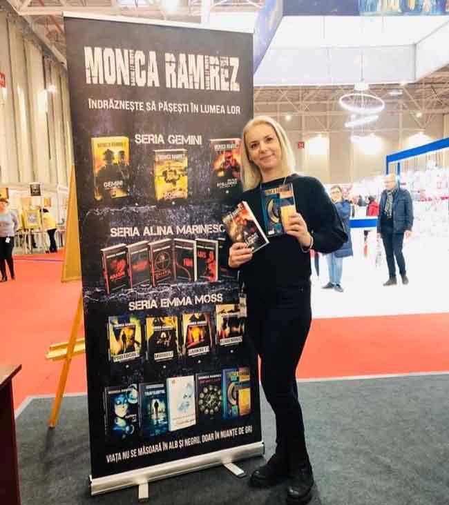 Monica Ramirez abordeaza stiluri bine conturate: literatura de spionaj si thriller. Ce te atrage la aceste genuri si cum ai ajuns sa le abordezi?