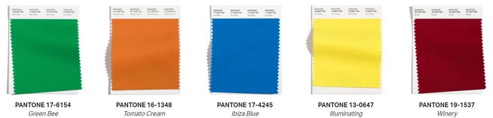 Culorile 2021-2022 London Fashion Week publicate de Pantone Color Institute ™ ne prezinta zece culori remarcabile.