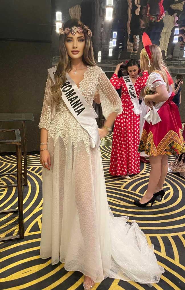 Iolanda Anamaria Babau, locul 2 la Miss Europe