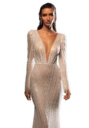O tendinta rochii de mireasa 2022 - apetisanta, regasita in rochiile de mireasa pretioase, glam,