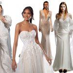 Principalele tendinte rochii de mireasa 2022 ne ofera variante ale rochiei de bal moderne pentru miresele care isi doresc un moment al printesei, a crescut numarul rochiilor de mireasa mini asa cum era de asteptat, asa cum e si cazul pieselor separate.