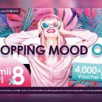 Shopping Mood On este o campanie lansata pe 3 iunie 2021 de Bucuresti Mall - Vitan , prin care iubitorii de shopping pot castiga, pana pe 26 septembrie, 4.000 de vouchere.