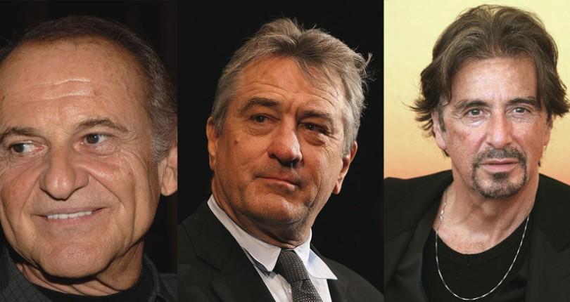 Joe Pesci, Robert de Niro, Al Pacino intr-un nou film de Martin Scorsese