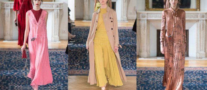 Tendinte in moda in colectia Valentino primavara-vara 2017