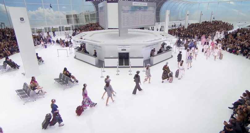 Tendinte primavara-vara 2016 in colectia ready-to-wear Chanel