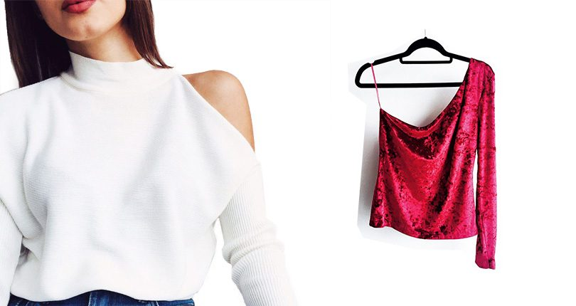 Bluza cu decupaje-Fashion in Store Abelle