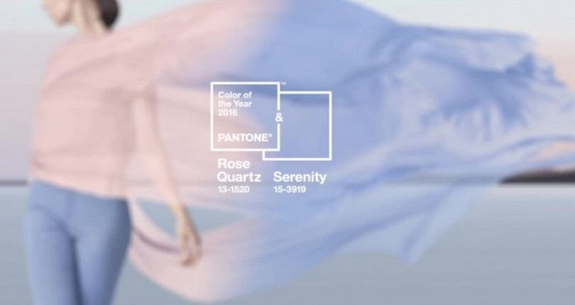 Culoarea anului 2016-Rose Quartz si Serenity