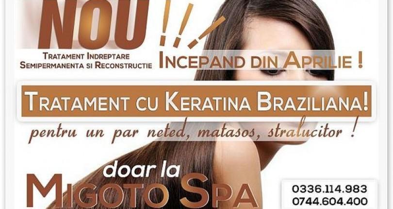 Totul despre Keratina Braziliana intr-un Articol Semnat Salon Infrumusetare Migoto Spa