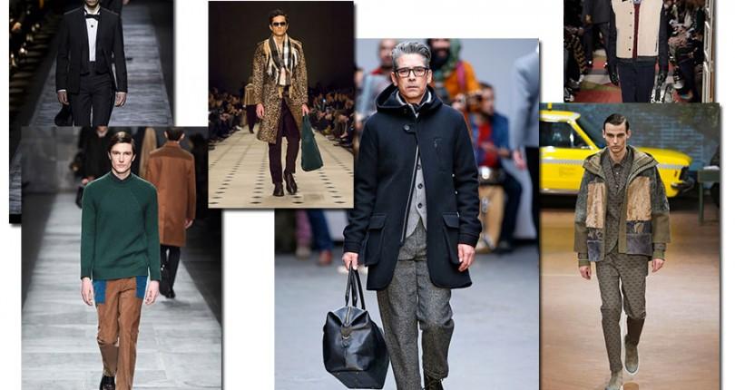 Tendinte vestimentare toamna-iarna 2015-2016 barbati