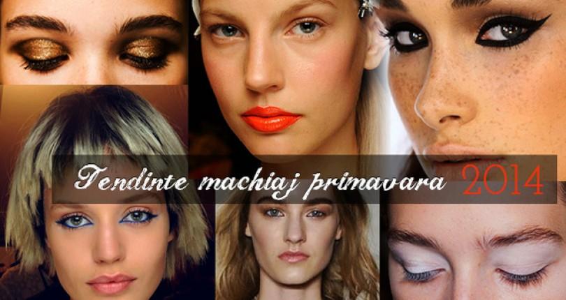 Ce Trebuie Sa Stim pentru A Fi In Tendinte Make Up Primavara 2014?