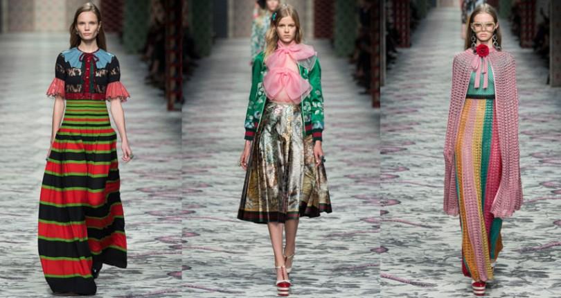 Tendinte primavara-vara 2016 in colectia Gucci